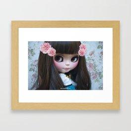 ERREGIRO CUSTOM BLYTHE DOLL ROSE Framed Art Print