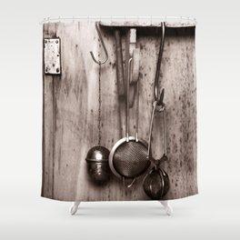 KITCHEN EQUIPMENT Shower Curtain