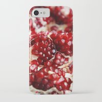 pomegranate iPhone & iPod Cases featuring Pomegranate  by Libertad Leal Photography