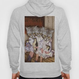 Three Alley Cat Sisters and the World of Mirth Hoody