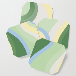ABSTRACTLY... Coaster