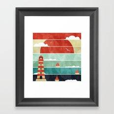 Coming Home. Framed Art Print