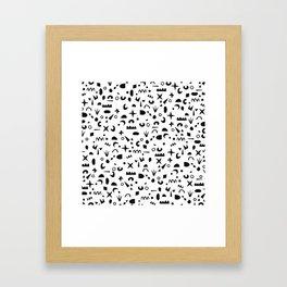 Paper Pieces Framed Art Print