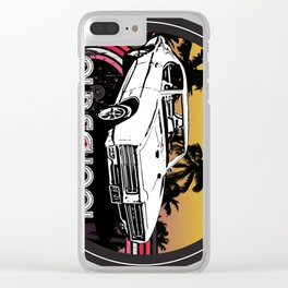 Old School GTO Clear iPhone Case