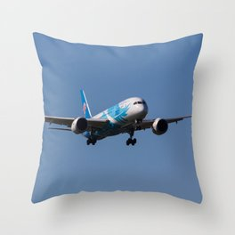 China Southern Airlines Boeing 787 Dreamliner Throw Pillow