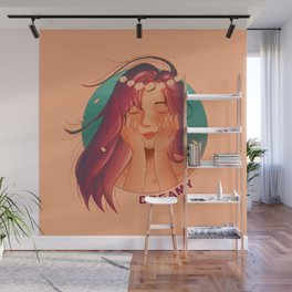Dreamy Girl Wall Mural