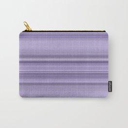 Pantone Purple Stripe Design Carry-All Pouch