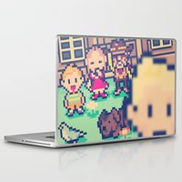 earthbound Laptop & iPad Skins featuring Mother 3 Selfie by Dean Bottino