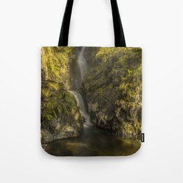 Cumbrian Waterfall. Tote Bag