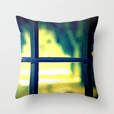 Life on the other side Throw Pillow