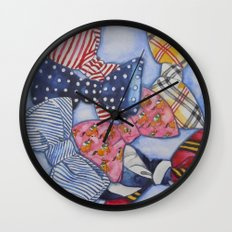 Tie One On Wall Clock