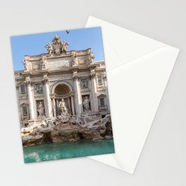 Trevi Fountain at early morning - Rome, Italy Stationery Cards