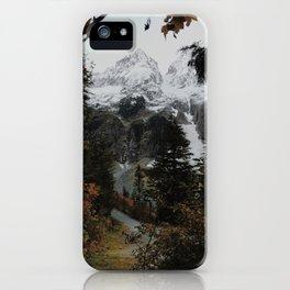 Cascade River Rd iPhone Case