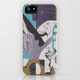 Modern Eclectic Elevated Elevating Emergent Emerging Emotional Emotionally Charged Enchanted Energy iPhone Case