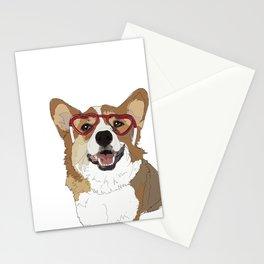Happy Valentine's Day Corgi Stationery Cards