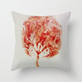 Tree of Life: The Placenta Throw Pillow