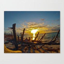 Turks and Caicos Sunrise Canvas Print