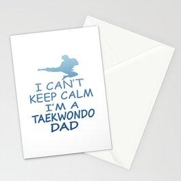 I'M A TAEKWONDO DAD Stationery Cards