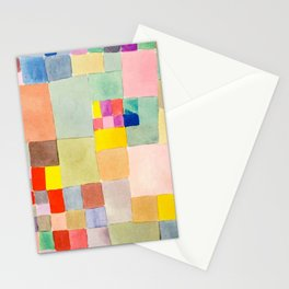 """Paul Klee """" Flora on sand """" Stationery Cards"""