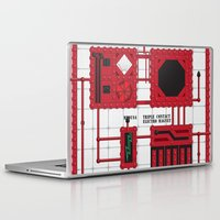 rocky horror Laptop & iPad Skins featuring Rocky Horror Control Panel by Shawn Hall Design