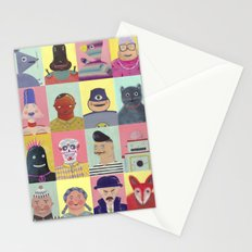 bobbies friends Stationery Cards