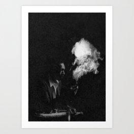 J Coltrane Art Print