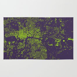 London City Map Rug