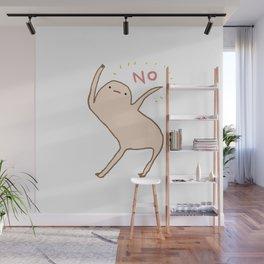 Honest Blob Says No Wall Mural