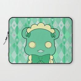 Monochromatic Kuma Lulu Laptop Sleeve
