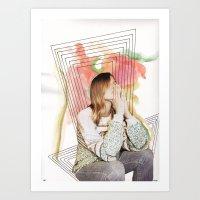Girl Time No. 11 Art Print
