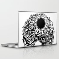 ying yang Laptop & iPad Skins featuring Ying-Yang by Carina Maitch