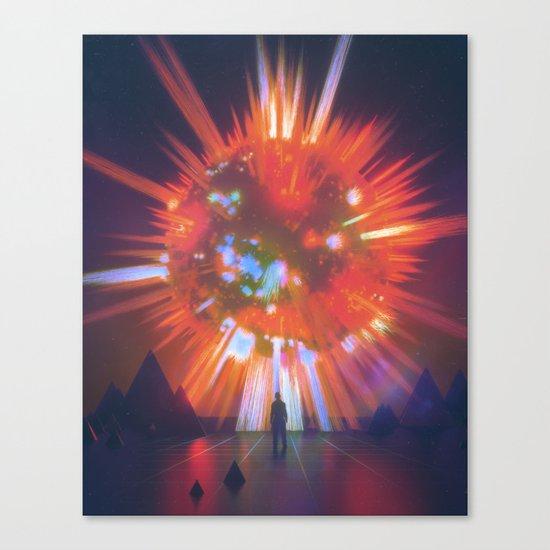 SUPERNOVA (everyday 03.07.17) Canvas Print