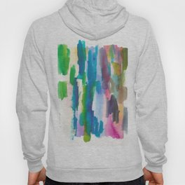 180812 Abstract Watercolour Expressionism 7 Hoody