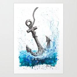 Sea Anchor Art Print