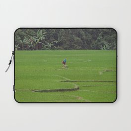 Rice Paddies in Kho Muong, Vietnam Laptop Sleeve