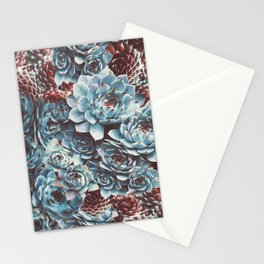 Sempervivum Succulents Stationery Cards