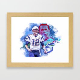 Superbowl routine Framed Art Print