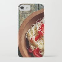 pasta iPhone & iPod Cases featuring Pasta by Eli Potter