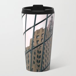 """""""I started at the top / and I worked my way down"""" Travel Mug"""