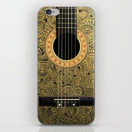 Black Gold iPhone Skin
