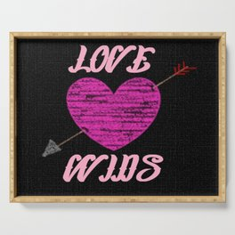 Love Wins Serving Tray