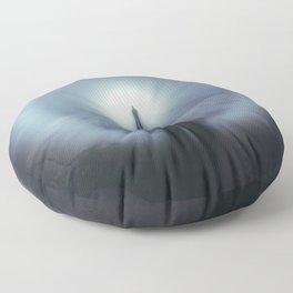 The White Rainbow Floor Pillow