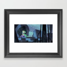 When Hyrule Drowns Framed Art Print