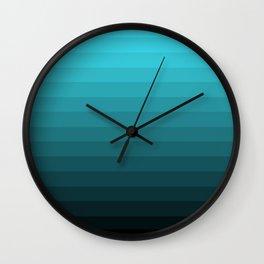 Depth Gradient Wall Clock