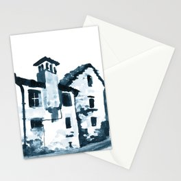 Walking Down The Street Stationery Cards