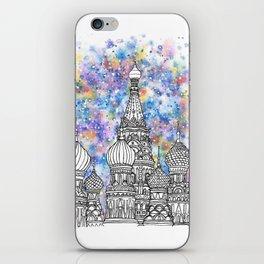 Splash | Moscow iPhone Skin