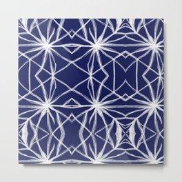 Shibori Freestyle Tie Dye - Rasha Stokes Metal Print
