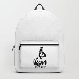 Wrestling Panda Parody Backpack