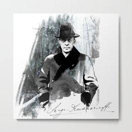 Rachmaninoff Metal Print