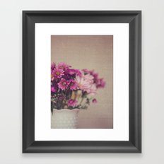 p i n k Framed Art Print